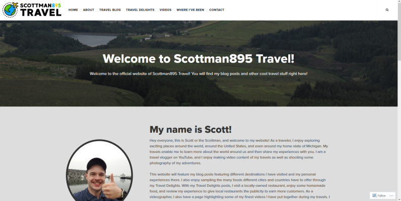 Scottman895 Travel New Website